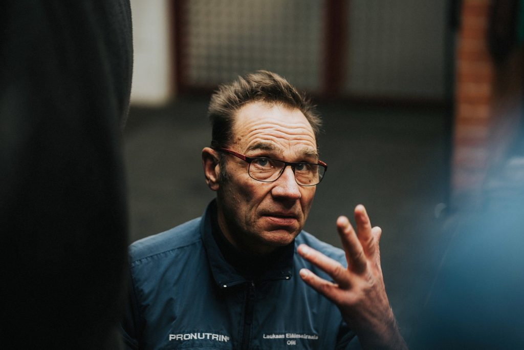 Eläinlääkäri Olli Kauko